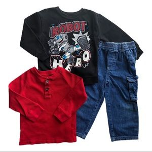 ⭐️ Size 3T Boys Outfit Bundle